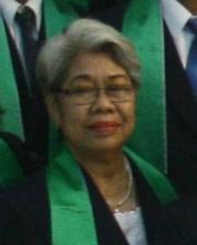 Penatua Ny. Elisabeth Anawati Warsono
